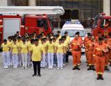 纪念5.12  彝良消防在行动